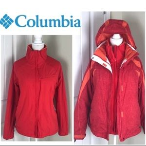 Columbia Interchange Winter Waterproof Jacket 2pcs
